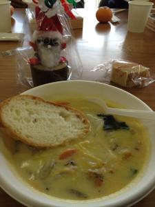 美味しいスープ、ごちそうさま
