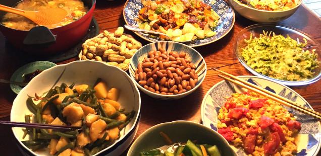 アルモンデ夏野菜で中華を楽しむ
